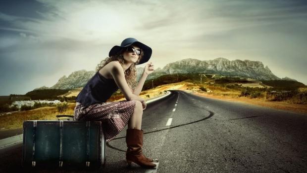 traveller-woman